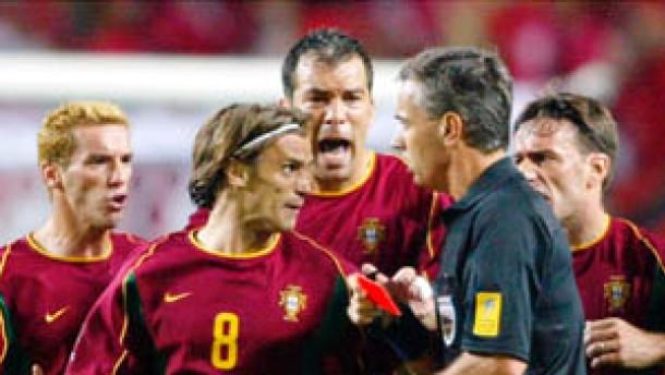 Portugals Joao Pinto droht lange Sperre