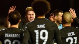 Manchester City nimmt Kurs auf ersten Titel