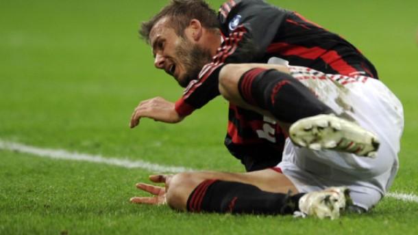 Beckhams Abschied mit Tränen und Verzweiflung
