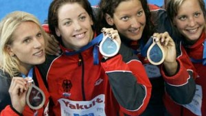 Lagen-Staffel der Frauen holt Bronze