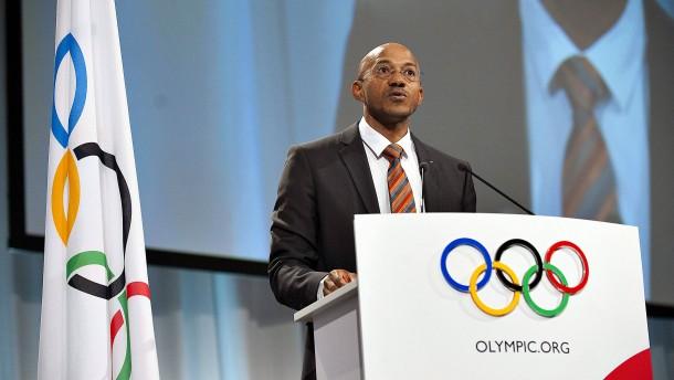 Fredericks legt IOC-Amt nieder