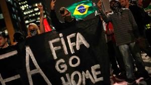 Fifa und IOC rügen Brasilien