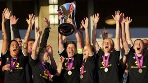 Frankfurter Fußball-Königinnen