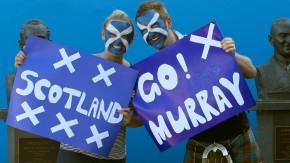 Wahlkampf: Schottische Tennisfans vereinnahmen Andy Murray
