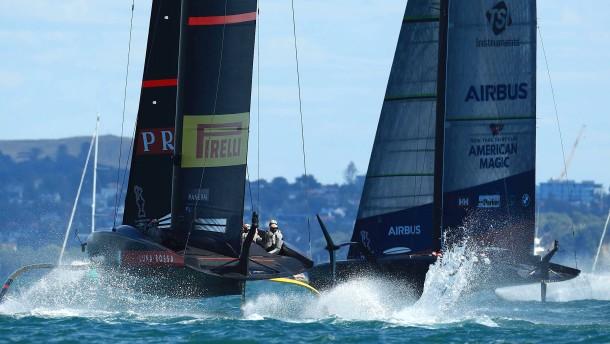 Drama vor Auckland beim America's Cup