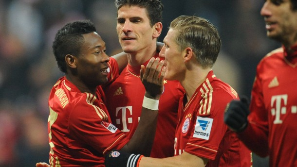 Jubel, Trubel, Langeweile - die Bayern dominieren die Bundesliga