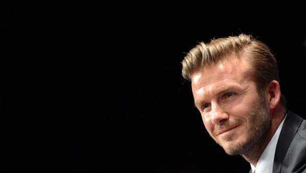 Die ganz große Kunst: David Beckham in Paris