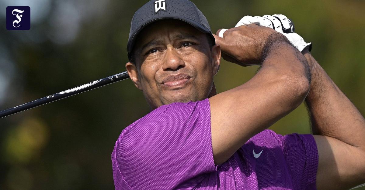 Tiger Woods nach schwerem Autounfall im Krankenhaus - FAZ - Frankfurter Allgemeine Zeitung