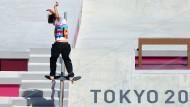 Yuto Horigome gewinnt im Ariake Urban Park