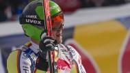 Schnell unterwegs: Andreas Sander in Kitzbühel