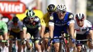 Sieger des Tages: Marcel Kittel (in blau)