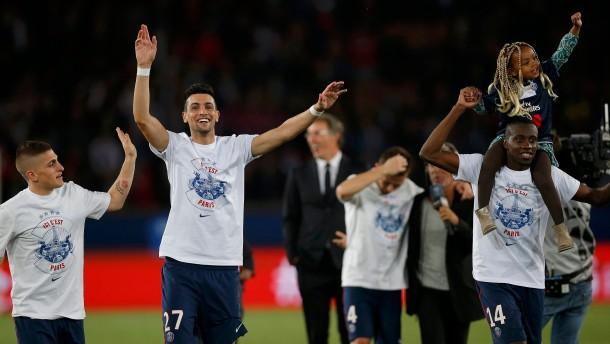 Paris wird trotz Niederlage Meister