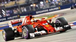 Vettel mit Wunderrunde