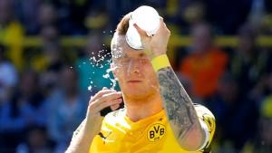 Eine ganz kalte Dusche für Dortmund