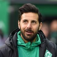 Zukunft in Rot? Claudio Pizarro hat seine aktive Karriere bei Werder Bremen beendet.