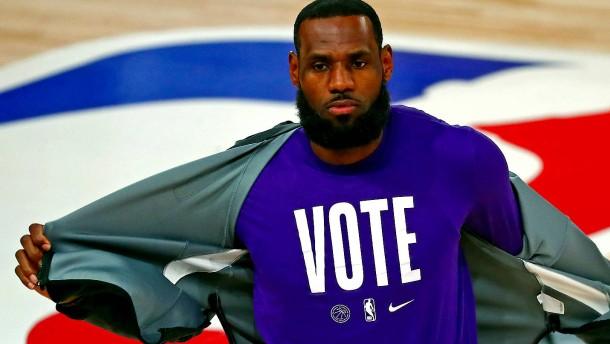 LeBron James und der Flirt mit der großen Politik