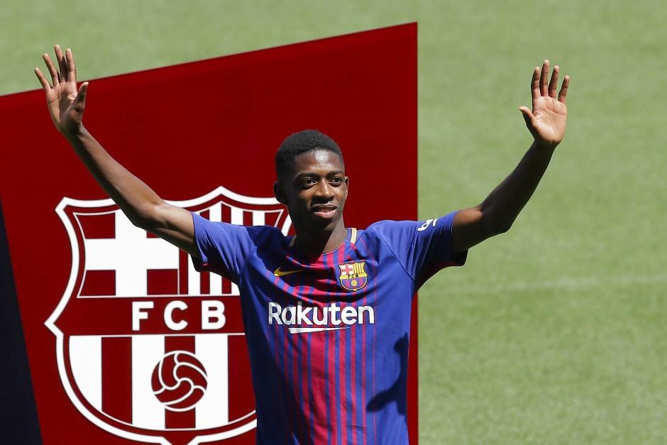 Der Ersatz-Heilsbringer in Barcelona: Ousmane Dembélé