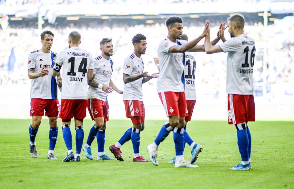Erfolgreiches Team, auch wenn es nur zweite Liga ist.