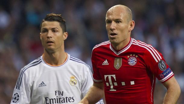 Erwischen die Bayern wieder Ronaldo und Real?