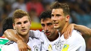 Deutschland nah am Meisterstück
