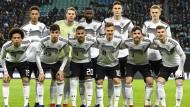 Mit dieser jungen Mannschaft startete Deutschland gegen Russland.
