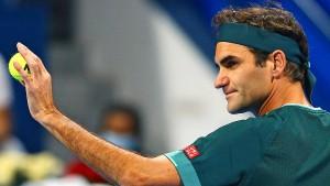 Federer ist ein sehr glücklicher Verlierer