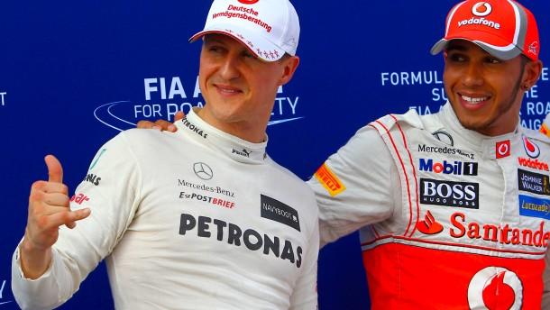 Das Duell der Giganten der Formel 1