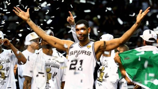 Fünfter Meistertitel für San Antonio Spurs