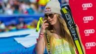 Hat Geschichte geschrieben: Lindsey Vonn gewinnt zum siebten Mal den Abfahrts-Weltcup