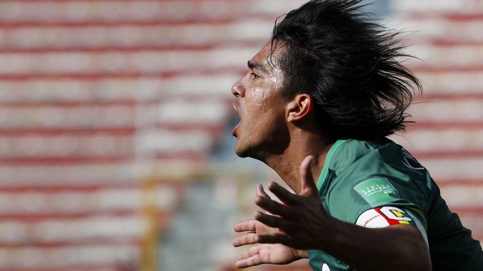 Boliviens Marcelo Martins: Wegen seiner Kritik an der Verlegung der Copa América nach Brasilien für ein Spiel gesperrt