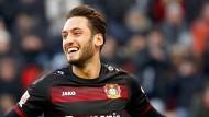 Leverkusen besiegt Elfmeterfluch und Hertha
