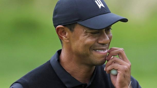 Debakel für Tiger Woods