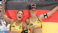 Das neue Top-Paar im deutschen Beachvolleyball