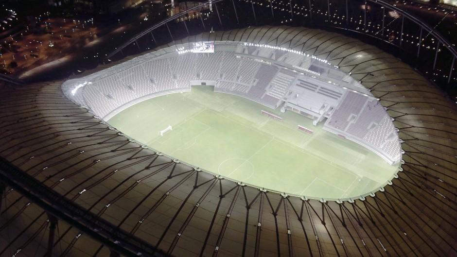 Bildergalerie: Khalifa International Stadium in Doha für WM 2022 ...