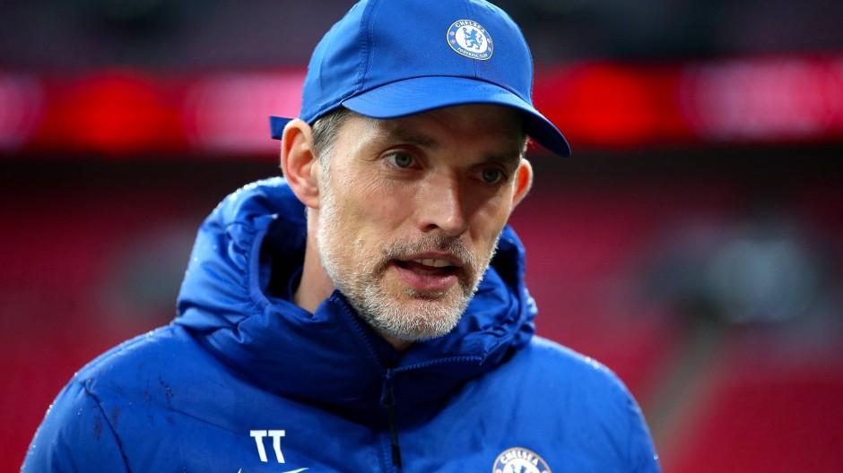 Reklamierte ein vermeintliches Handspiel: Chelsea-Trainer Thomas Tuchel