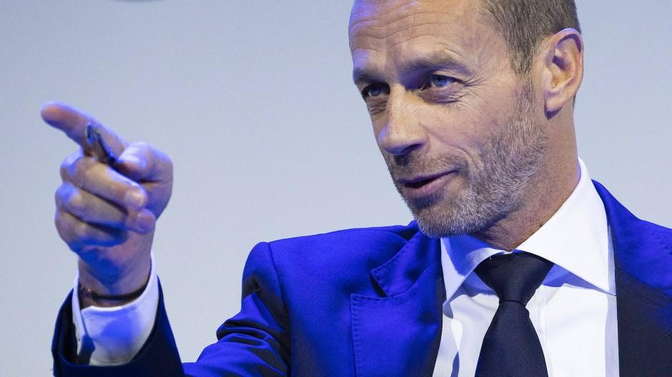 Einer der mächtigsten Männer des Fußballs: Aleksander Čeferin