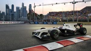 An den Rand gedrängt: kleine Teams wie Sauber haben institutionelle Nachteile in der Formel 1