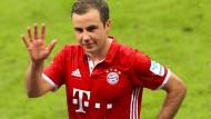 Auf Wiedersehen in der neuen Saison: Mario Götze bleibt beim FC Bayern.