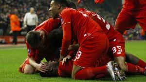 Liverpool verhindert die Pokal-Blamage