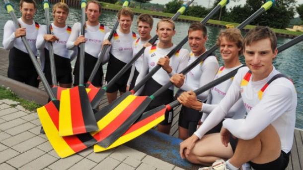 Der neue deutschland achter wird wohl nur eine einzige regatta