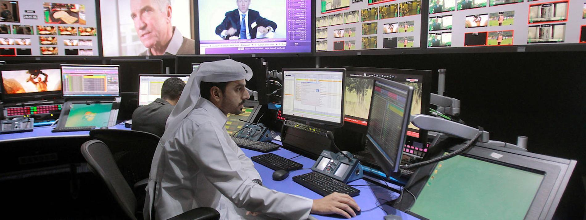 Schlag gegen Qatars Sportsender