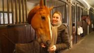 Goja mag knuspriges Müsli und seine Reiterin Janne Friederike Meyer.