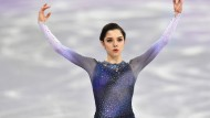 Silber bei Olympia: Jewgenija Medwedewa