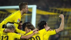 BVB dreht Spiel gegen Klopps alte Liebe