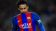Neymar für den Clásico gesperrt