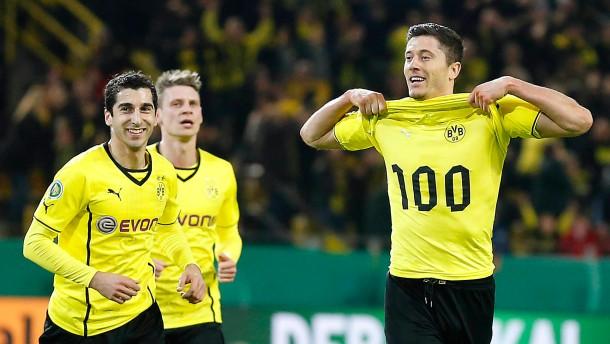 Dortmund fährt nach Berlin