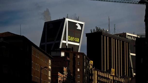 Spaniens Banken erhalten 39 Milliarden Euro