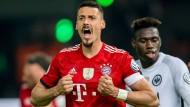 Ganz und gar nicht seine Woche: Bayern-Stürmer Sandro Wagner.