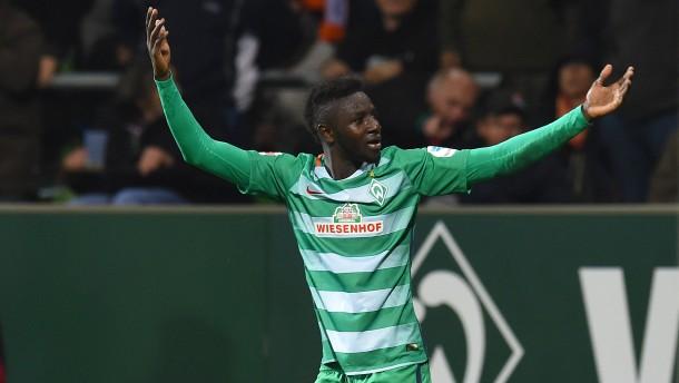 Manneh krönt sein Märchen mit dem Werder-Siegtor