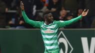 Wie im Märchen: Ousman Manneh trifft für Werder
